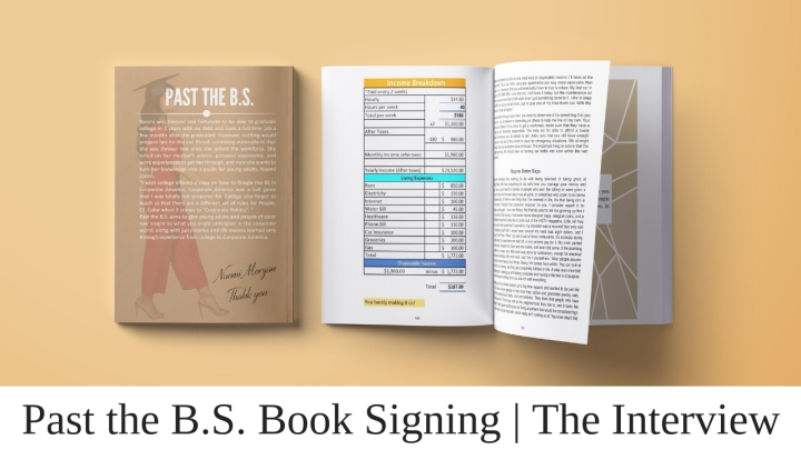 Past the B.S. Book Signing _ The Interview